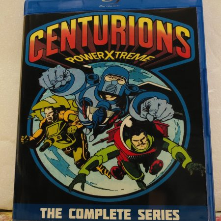 Centurions The Complete Series 2 Seasons with 65 Episodes plus Mini-Series on 4 Blu-ray Discs in 720p HD