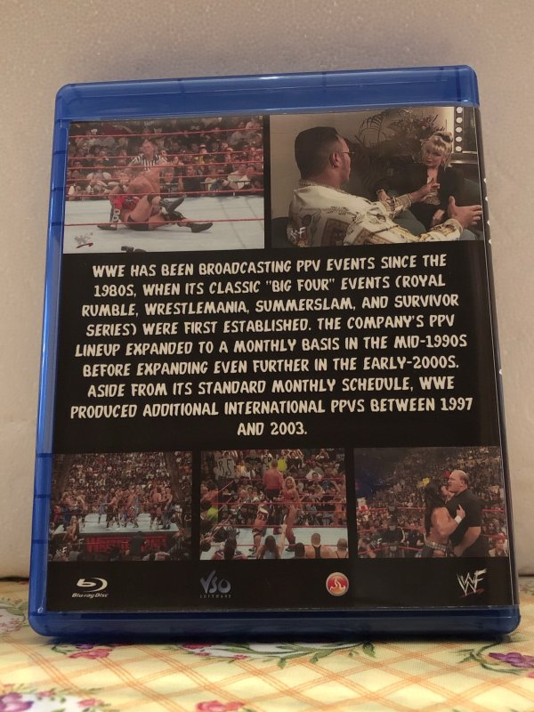 WWF 1998 Pay-Per View The Complete Year 7 Blu-ray Discs in 720p HD