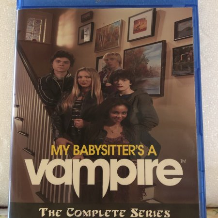 My Babysitter a Vampire The Complete Series 2 Seasons, 26 Episodes and Movie on 3 Blu-ray Discs in 1080p HD