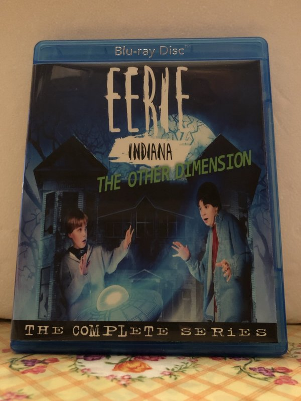 Eerie Indiana The Other Dimension The Complete Series 15 Episodes Set on Blu-ray in 720p HD