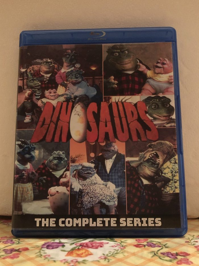 Disney's Dinosaurs The Complete Series 4 Seasons with 65 Episodes on 4 Blu-ray Discs in 720p HD