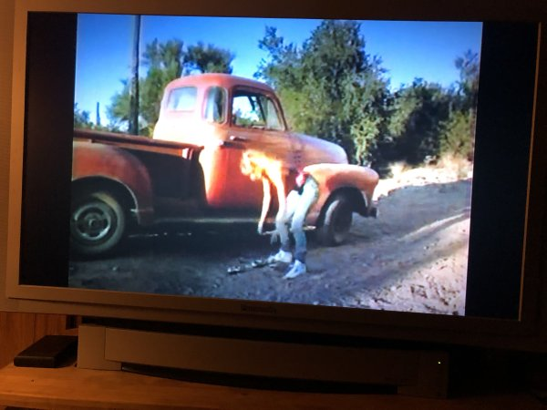 It's the Girl in the Red Truck, Charlie Brown Blu-ray/DVD Combo