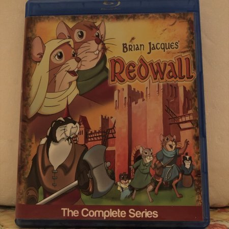 Brian Jacques Redwall The Complete Series 3 Seasons with 39 Episodes plus The Movie on 3 Blu-ray Discs in 720p HD