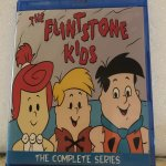 """Flintstone Kids The Complete Series 2 Seasons with 34 Episodes plus the """"Just Say No"""" Special on 3 Blu-ray Discs in 720p HD"""