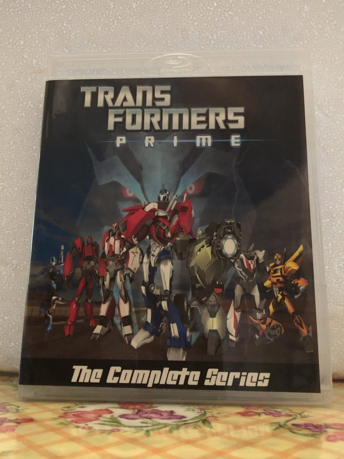 Transformers Prime The Complete Series 3 Seasons with 65 Episodes plus Movie on 5 Blu-ray Discs In 720p HD