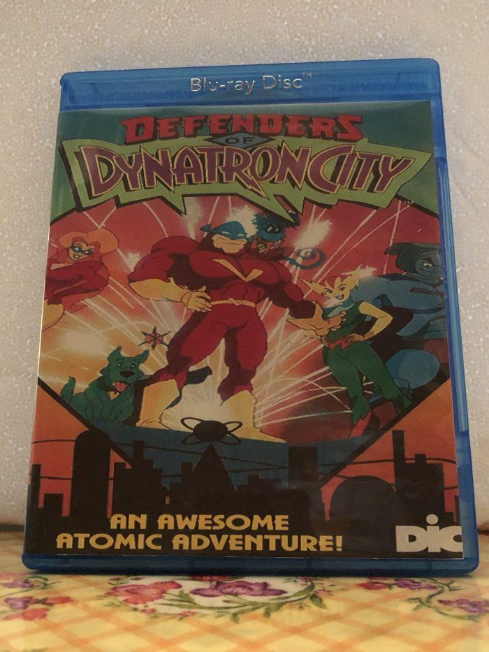 Defenders of Dynatron City Blu-ray/DVD Combo Set