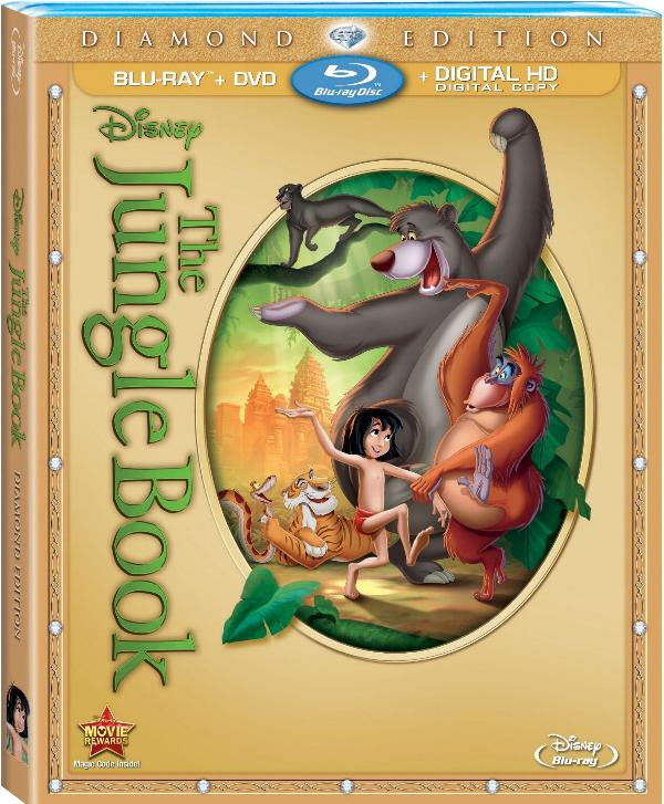 The Jungle Book: Diamond Edition comes to Blu-ray for the first time on February 11th