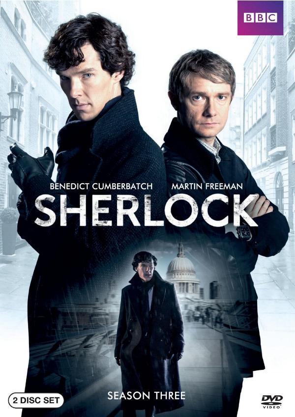 Sherlock: Season Three comes to DVD and Blu-ray.