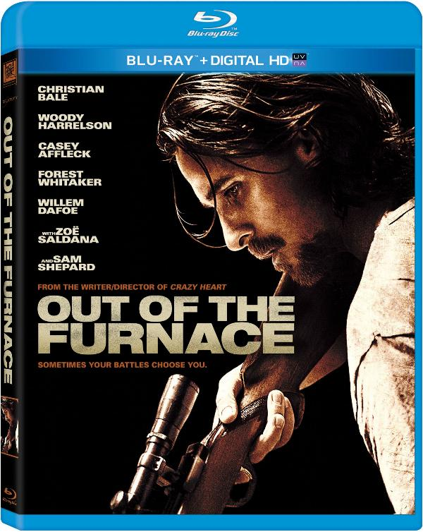 Out of the Furnace Blu-ray cover art.