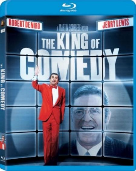 The King of Comedy Blu-ray cover art.