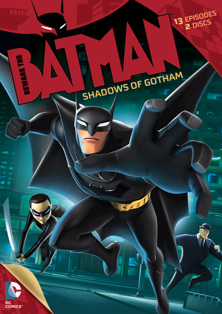 Batman swings into an exhilarating new age, teaming with a powerful allies old and new for a thrilling new take on the classic Dark Knight franchise in Beware the Batman: Shadows of Gotham, Season 1 Part 1.