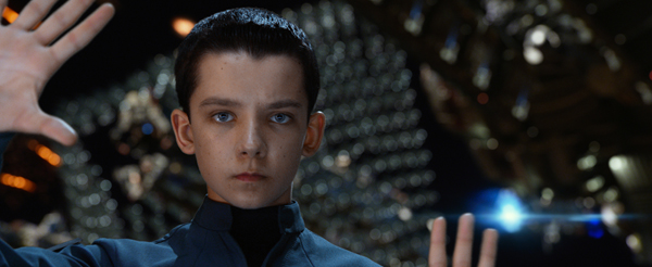 """Asa Butterfield (""""Ender Wiggin"""") stars in Summit Entertainment's, a LIONSGATE company, ENDER'S GAME."""
