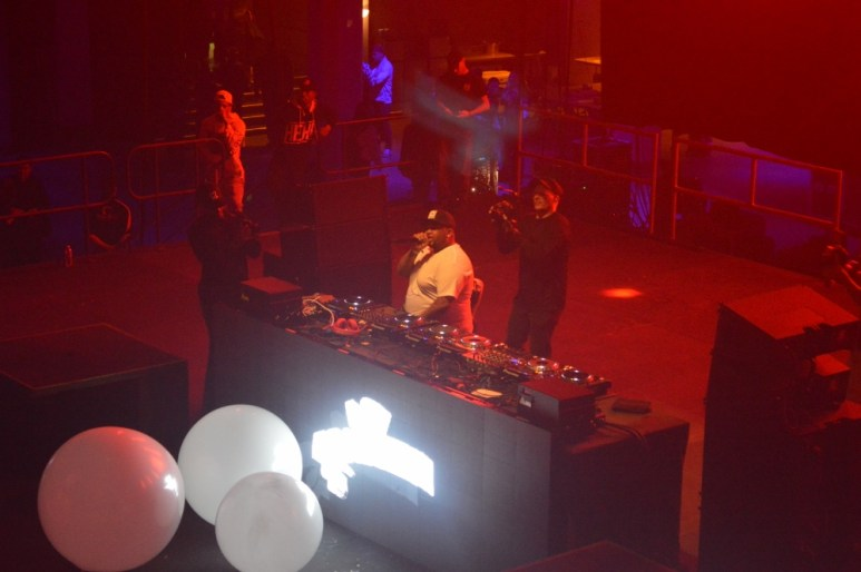 DJ Mustard on the decks