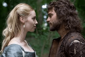 Freya Mavor and Jamie Dornan