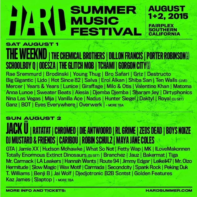 HARD SUMMER 2015 Sells Out, Boys Noize Drops Mixtape to Celebrate