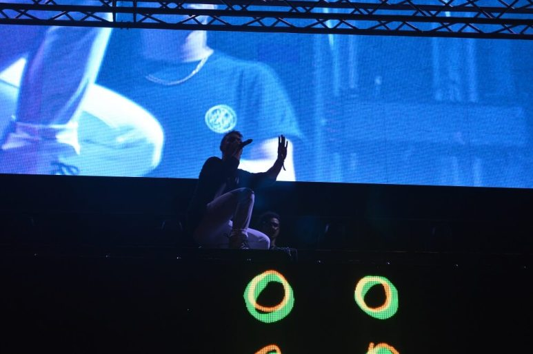Jack Ü - Brian Anderson Monsters and Critics 2015 ©