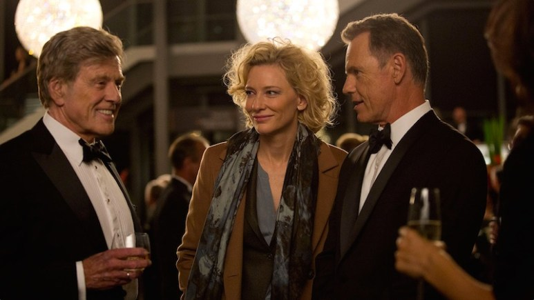 Truth starring Cate Blanchett and Robert Redford 2