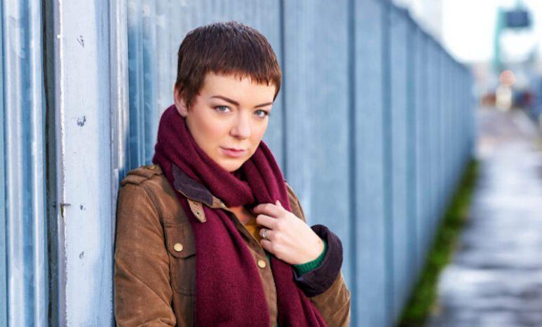 Sheridan Smith as PC Jo Gillespie in Black Work
