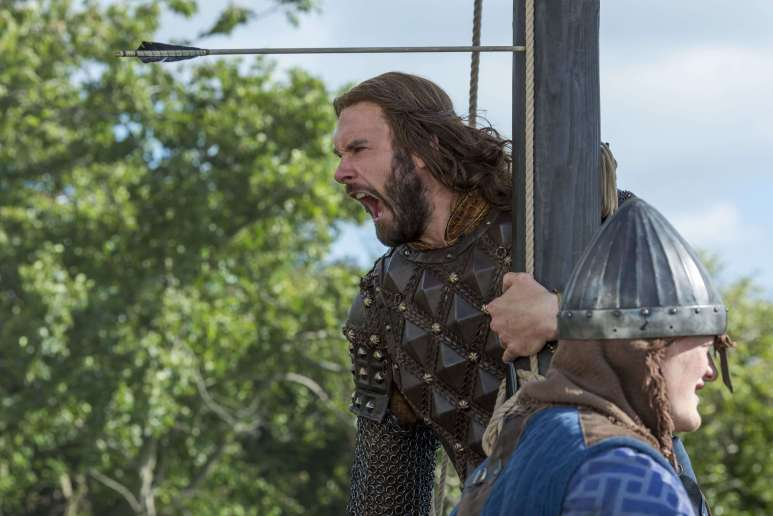 Rollo (Clive Standen) is on the other side of the battle this time (cr- Jonathan Hession - HISTORY)