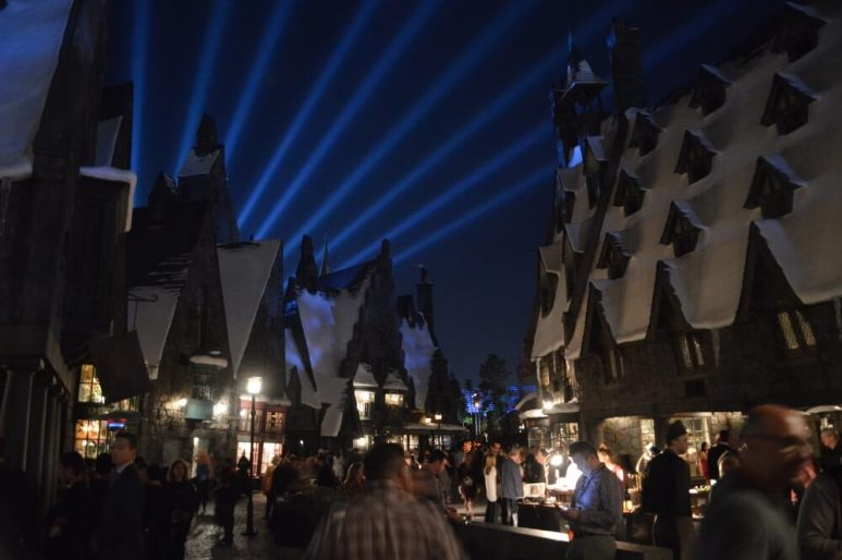 The Thoroghfare of Hogsmeade