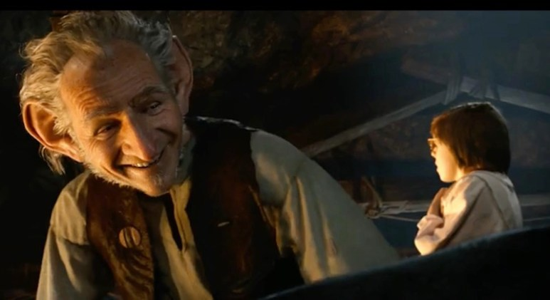 Disney's new Official Trailer 2 gives a much better glimpse of what Mark Rylance's BFG is like