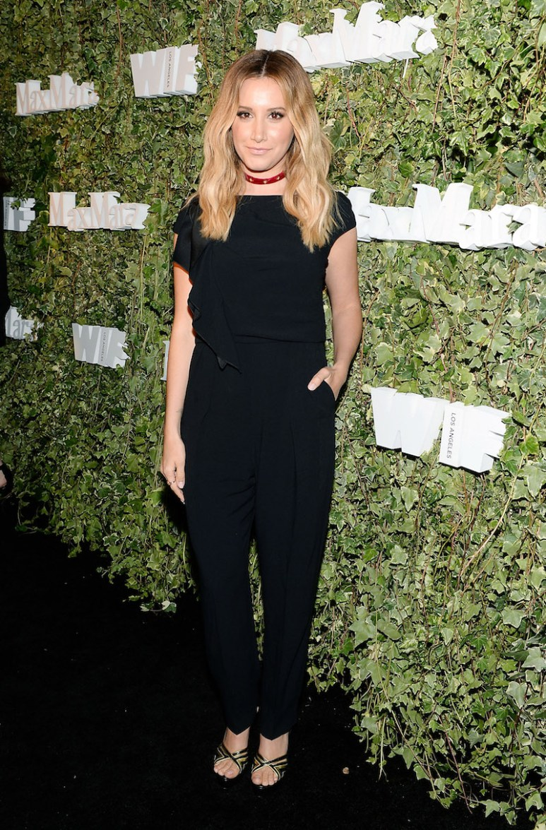 LOS ANGELES, CA - JUNE 14: Actress Ashley Tisdale, wearing Max Mara, attends Max Mara Celebrates Natalie Dormer - The 2016 Women In Film Max Mara Face Of The Future at Chateau Marmont on June 14, 2016 in Los Angeles, California. (Photo by Stefanie Keenan/Getty Images for Max Mara)