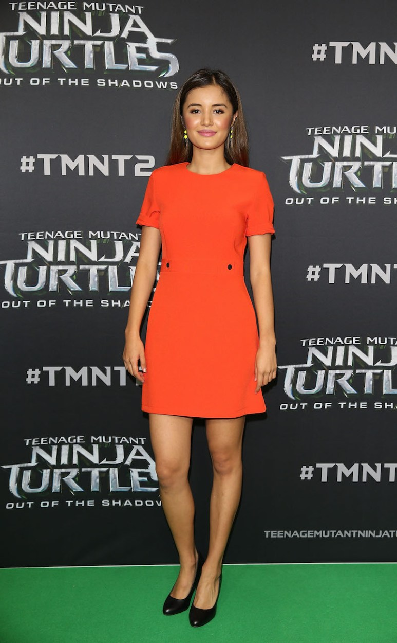 SYDNEY, AUSTRALIA - MAY 29: Naomi Sequeira arrives ahead of the Australian premiere of Teenage Mutant Ninja Turtles 2 at Event Cinemas George Street on May 29, 2016 in Sydney, Australia. (Photo by Caroline McCredie/Getty Images for Paramount Pictures) *** Local Caption *** Naomi Sequeira