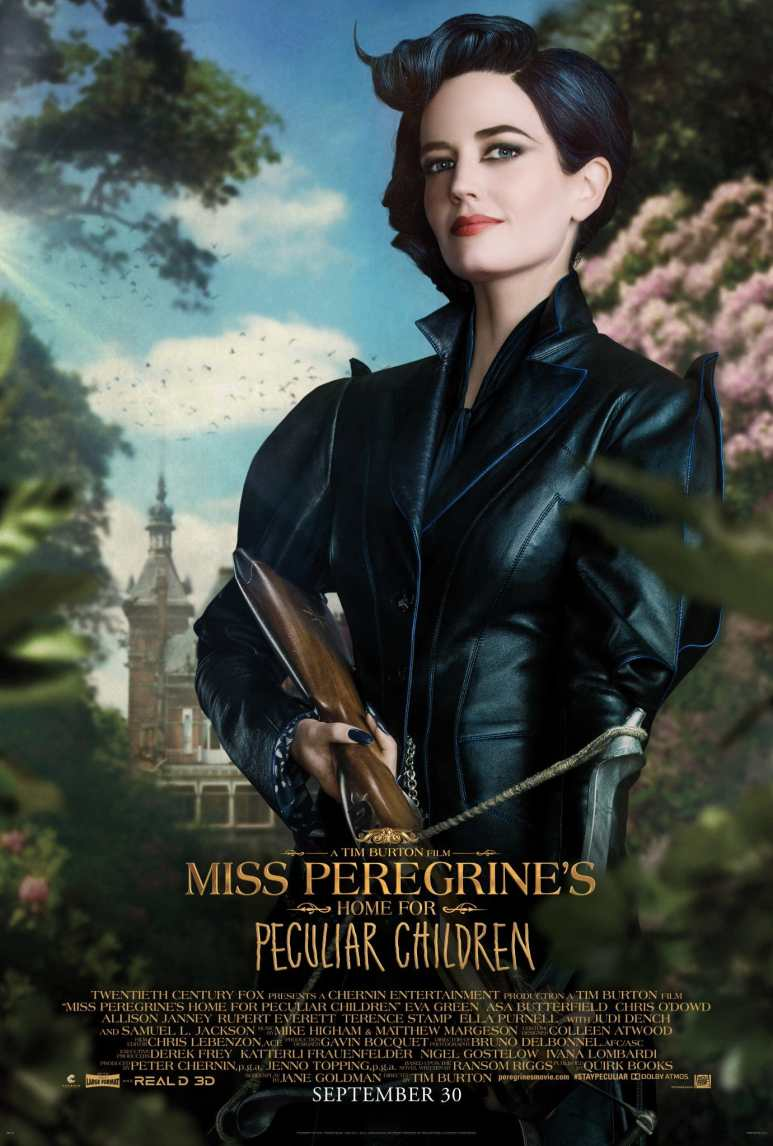 Eva Green as Miss Peregrine, the owner of the Home for Peculiar Children