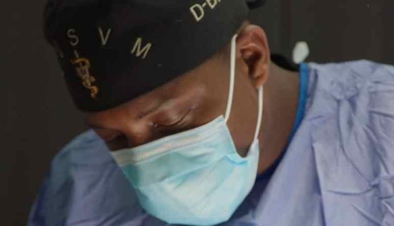 Dr. Diarra Blue performs the emergency C-section on tonight's The Vet Life season finale
