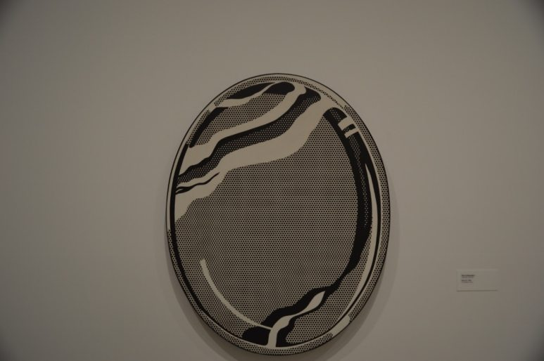 """""""Mirror #1"""" by Roy Lichtenstein - Kieran MacIntyre - Monsters & Critics 2016 ©"""