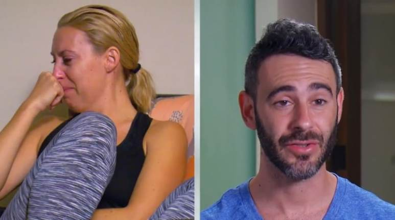 Heather and Derek on Married at First Sight