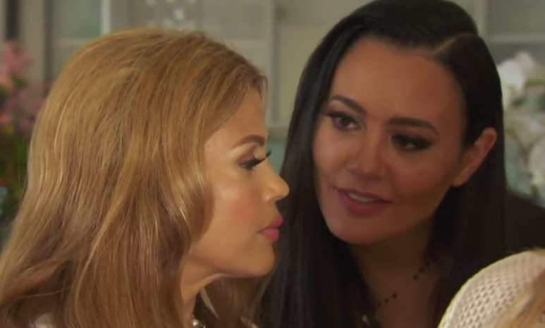 Lydia and Pettifleur on The Real Housewives of Melbourne