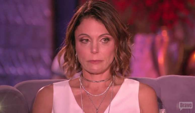 Bethenny breaks down in tears during The Real Housewives of New York City reunion special
