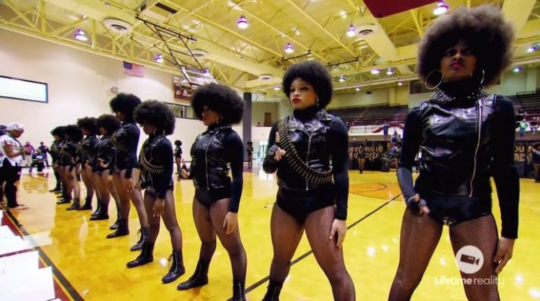 The slavery routine on tonight's episode of Bring It! on Lifetime