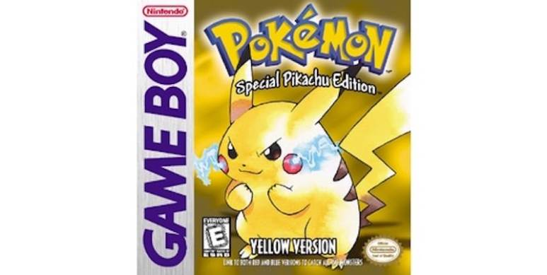 Pokemon Yellow boxes
