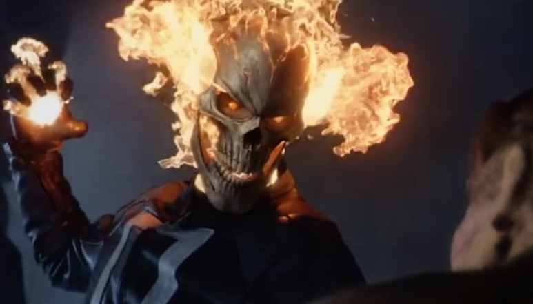 Ghost Rider on tonight's episode of Marvel's Agents of S.H.I.E.L.D.