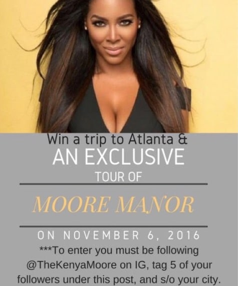 Kenya Moore competition
