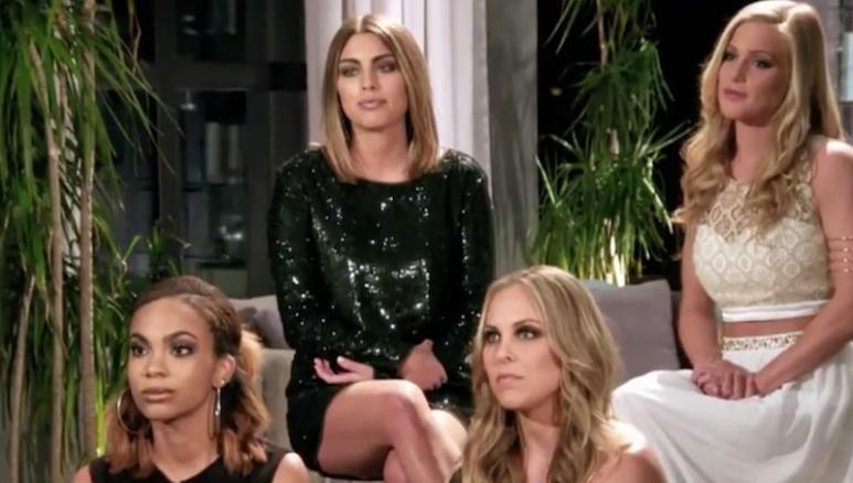 Maya, Avery, Lauren and Veronica face elimination on the Catching Kelce season finale