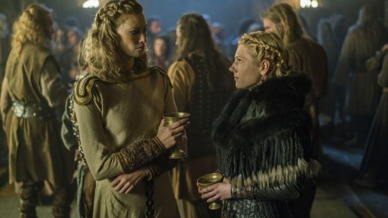 Alyssa and Lagertha