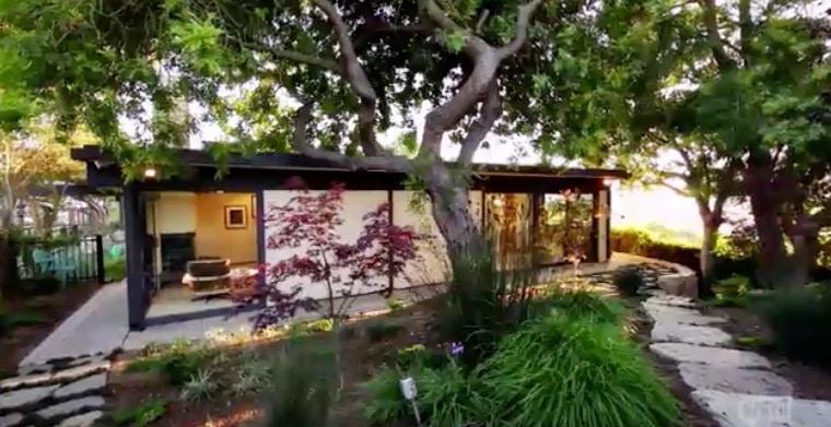 Million Dollar Listing Los Angeles - Wes Craven house external view