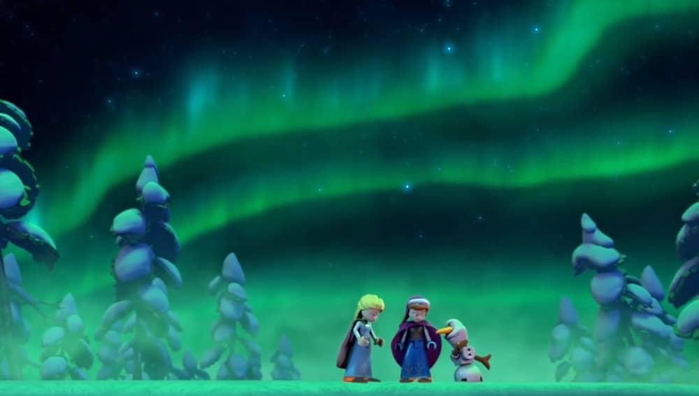 Frozen Northern Lights Elsa