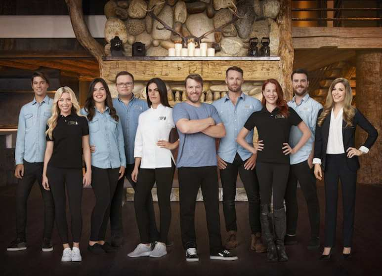 The Timber Creek Lodge cast