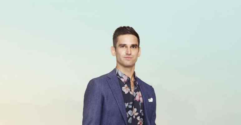 Carl Radke in his promotional photo for Bravo's Summer House