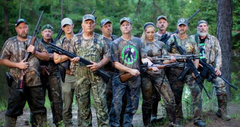 The Killing Bigfoot team are ready to go