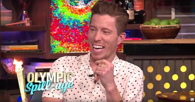 Shaun White talking about the Olympic Games on Watch What Happens Live