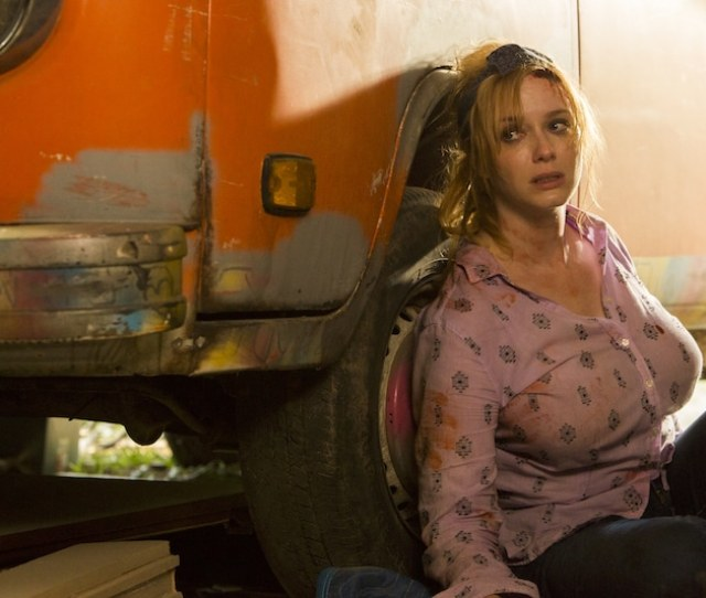 Christina Hendricks As Trudy Fawst