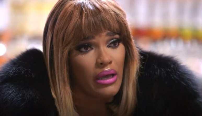Joseline breaks down in tears talking to Stevie J about her pregnancy on Love & Hip Hop Atlanta