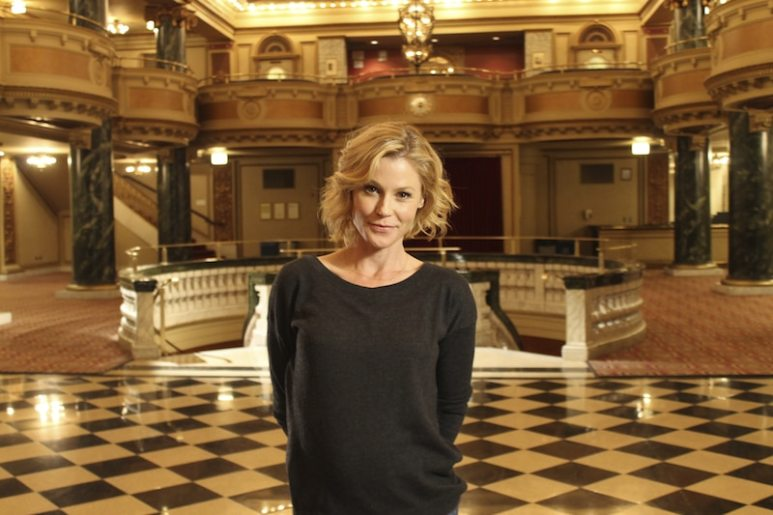 Julie Bowen on this week's episode of Who Do You Think You Are?