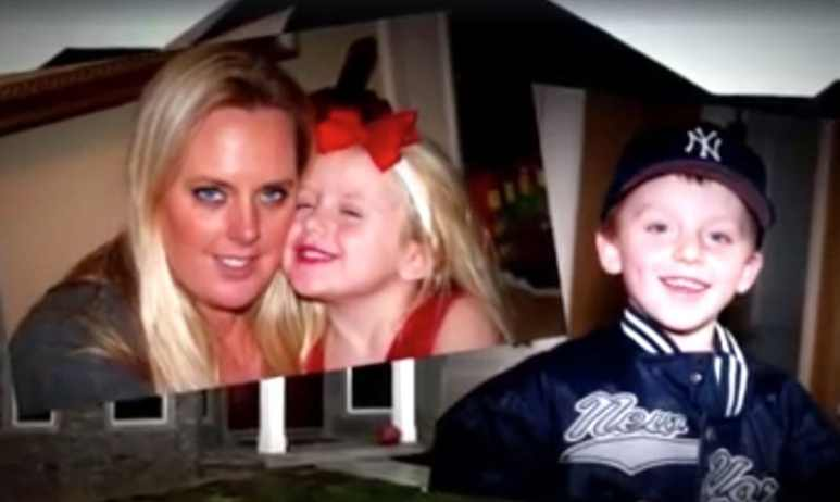 Stephanie with her kids on People Icons