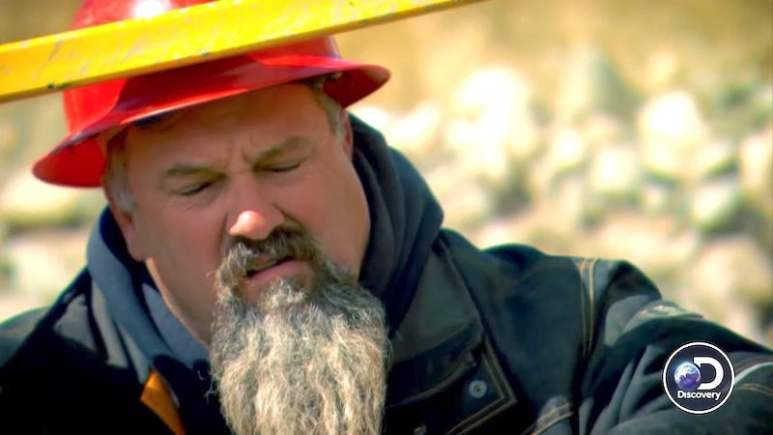 Todd Hoffman is gutted as his engine burns up in the end stretch of Gold Rush